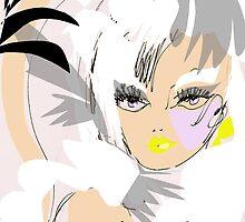 Mademoiselle, Exclusive design by Artist Carolina Sherwani by Carolina Sherwani
