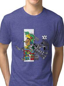 Xochiquetzalli Tri-blend T-Shirt