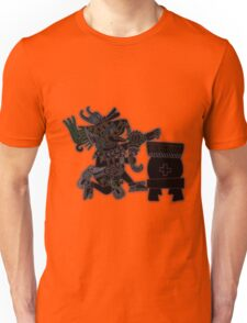 Huehucoyotl Ce Xochitl Unisex T-Shirt