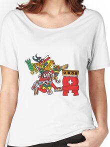Huehucoyotl Ce Xochitl Women's Relaxed Fit T-Shirt