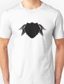 noir angel wing police T-Shirt