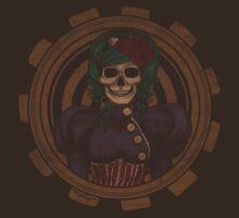 Steampunk Skullgirl T-Shirt