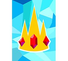 Ice King Crown  Photographic Print