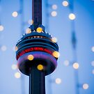 CN Tower Abstract by indiabluephotos
