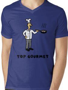Top Gourmet Mens V-Neck T-Shirt
