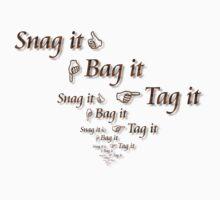 Warehouse 13 - Snag it, Bag it, Tag it Kids Tee