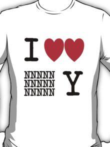 I Heart New New York (Black) T-Shirt