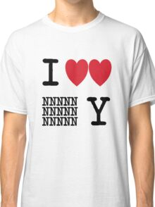 I Heart New New York (Black) Classic T-Shirt