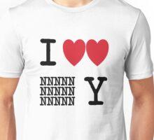 I Heart New New York (Black) Unisex T-Shirt
