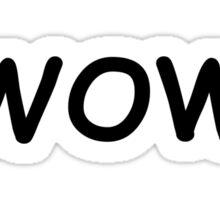 Dogecoin WOW Sticker