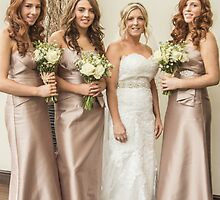 Bride and Bridesmaids by Theresa Selley