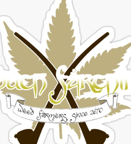 South Farthing (the Finest Weed in the West) Sticker