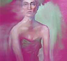 Pink Lady by Tiffany Dow