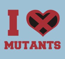 I Heart / Love Mutants Kids Tee