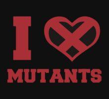I Heart / Love Mutants Kids Clothes