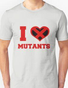 I Heart / Love Mutants T-Shirt