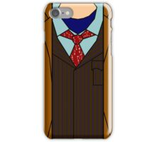 Tenth Doctor Suit iPhone Case/Skin