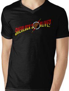 Sherlock's Alive? Mens V-Neck T-Shirt