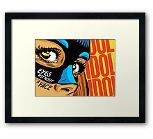 Eyes Without a Face Framed Print