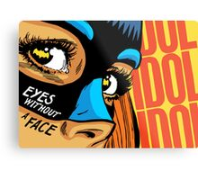 Eyes Without a Face Metal Print