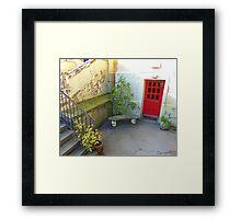 Elizabeth Arden Did Not Live Here!! Framed Print