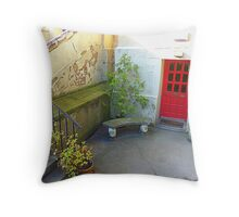 Elizabeth Arden Did Not Live Here!! Throw Pillow