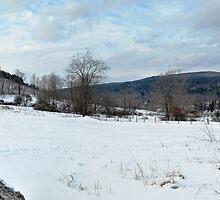 Cobble Mountaun Panorama by Geoffrey Coelho