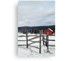 Cobble Mountain Barn No. 1 Canvas Print