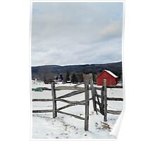 Cobble Mountain Barn No. 1 Poster