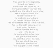 The Sheep's Prayer (gray) by GentryRacing