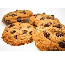 Chocolate Chip Cookies! Photographic Print