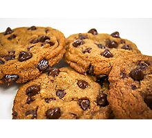 Chocolate Chip Cookies!! Photographic Print