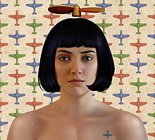PROPELLER GAL by Udo Linke
