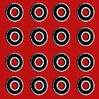 Red Bearing Pattern by Casey Lynn