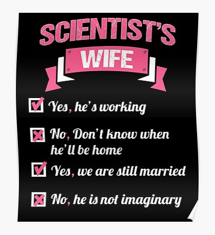 SCIENTIST'S WIFE Poster