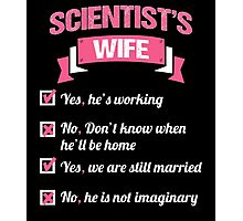 SCIENTIST'S WIFE Photographic Print