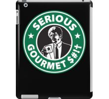 Some Serious Gourmet Coffee (clean) iPad Case/Skin