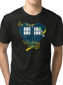 Be my Valentimey-wimey? Tri-blend T-Shirt
