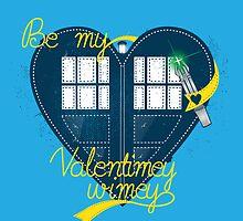 Be my Valentimey-wimey? by GordonBDesigns