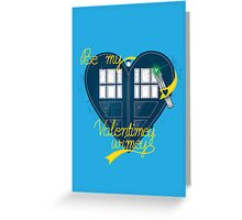 Be my Valentimey-wimey? Greeting Card