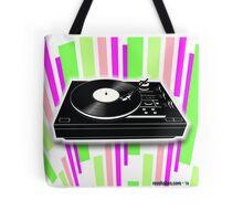Cool Retro Record Player - 2 Tote Bag