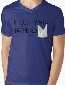 Sherlock Napkin Mens V-Neck T-Shirt