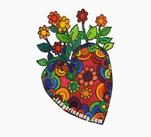 Blooming Heart #1 Womens Fitted T-Shirt