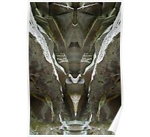 Cloudland Man - Nature's Mirror Image Poster