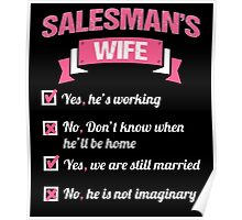 SALESMAN'S WIFE Poster