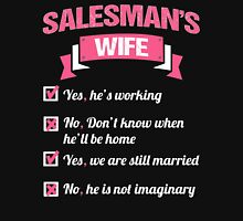 SALESMAN'S WIFE Womens Fitted T-Shirt