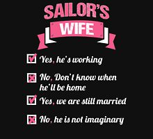 SAILOR'S WIFE Womens Fitted T-Shirt