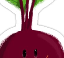 Drum Beat Beet Sticker