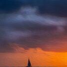 Waikiki Sunset by Karen Duffy