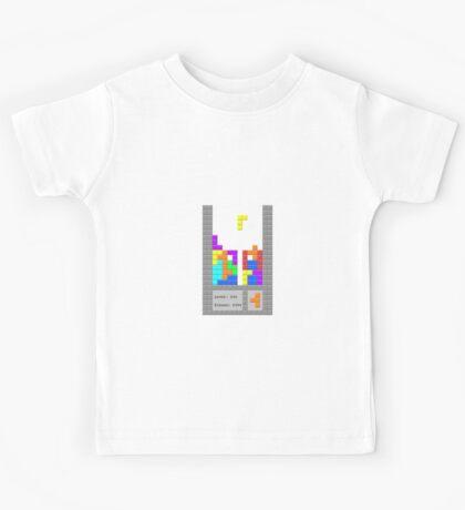 Tetris Nightmares are made of these... Kids Tee